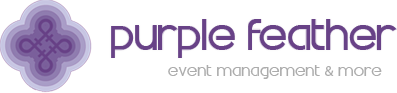 Puple Feather Logo